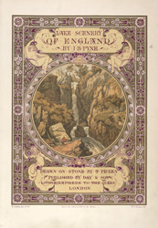 Title page from 'Lake Scenery of England'